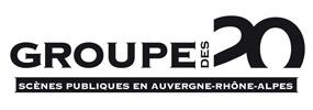 Le groupe des 20 Théâtres | Logo Groupe des 20 Rhône-Alpes