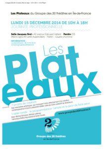 Plaquette Plateaux : Edition 2014
