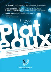 Plaquette Plateaux : Edition 2015